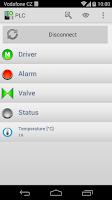 Screenshot of S7 PLC HMI