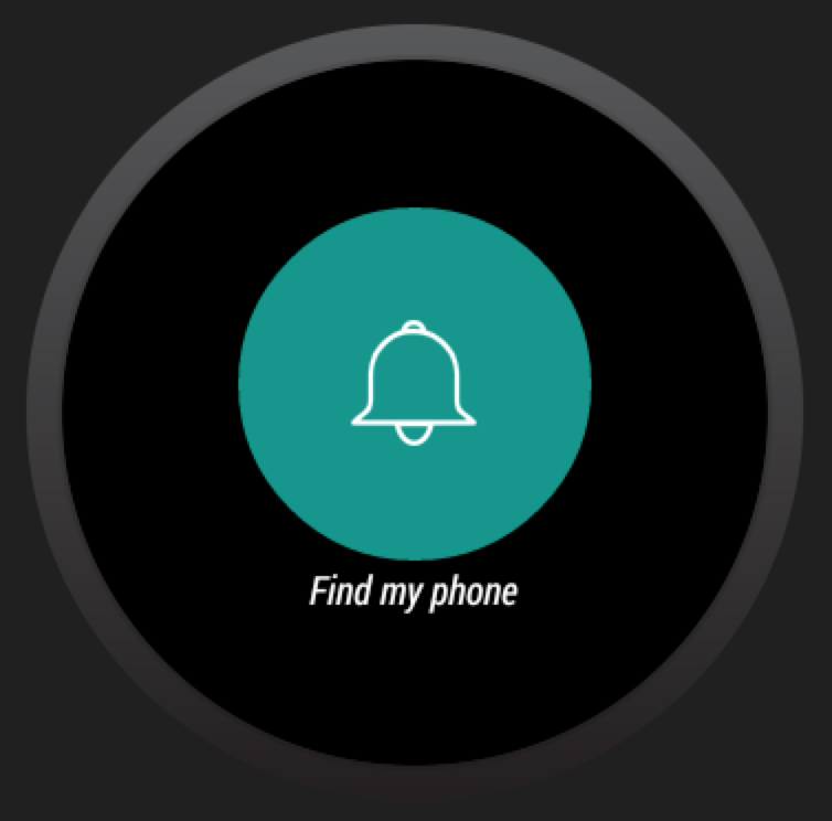 Phone Finder for Android Wear - screenshot