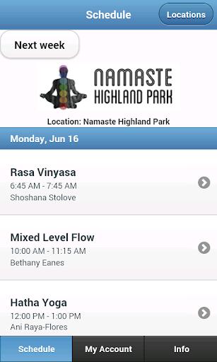 Namaste Highland Park