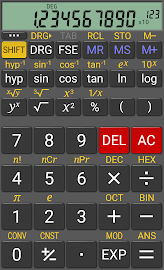 RealCalc Scientific Calculator Screenshot 1
