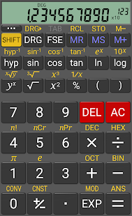 RealCalc Scientific Calculator: miniatura da captura de tela