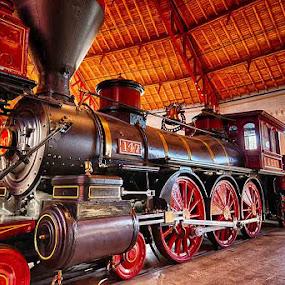 147 by John Goff - Transportation Trains ( railroad, b&o )