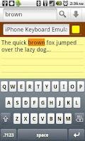 Screenshot of Keyboard Emulator