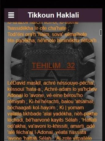 Tikoun Haklali phonétique