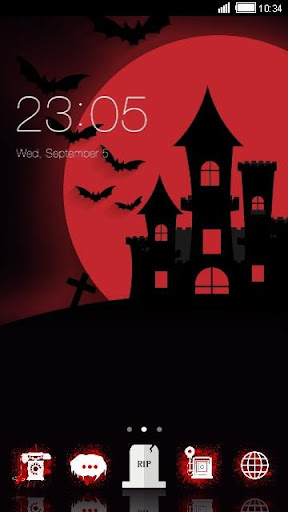 Amazing Night Android Theme