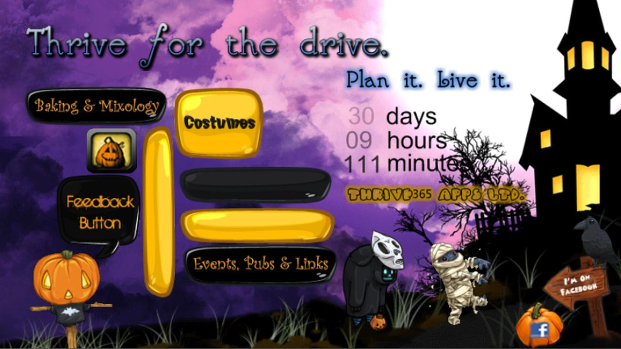 Halloween Party Planner - screenshot