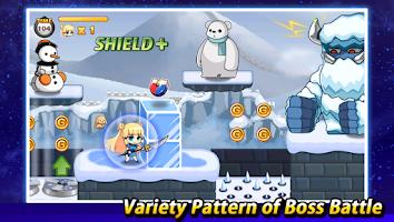 Screenshot of Super Warrior: The Beginning
