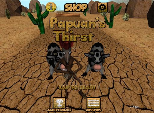 Papuans Thirst