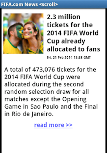 WORLD CUP 2014 BRAZIL SOCCER - screenshot thumbnail