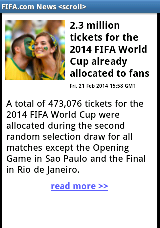 WORLD CUP 2014 BRAZIL SOCCER - screenshot