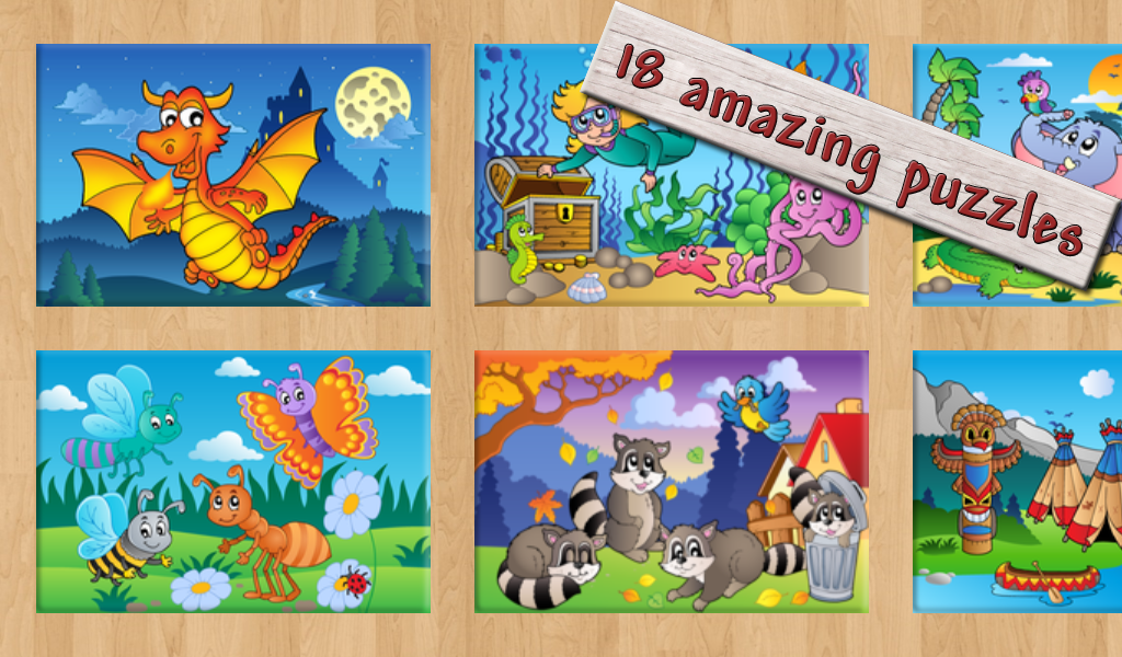 Kids Games: Puzzle & Pop Free - screenshot