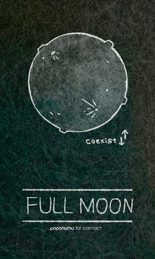 fullmoon go sms theme