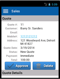 Sales Leads & Quote Management- screenshot thumbnail