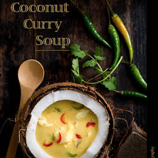Coconut Curry Soup.