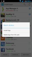 Screenshot of Move2SD (App2SD)