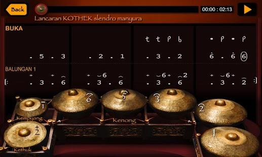 Virtual Javanese Gamelan- screenshot thumbnail