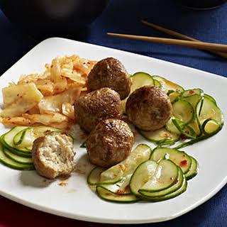 Korean Meatballs.
