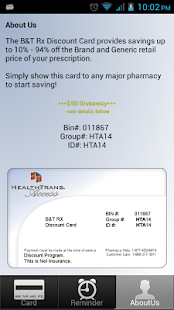 Discount Prescription Rx Card - screenshot thumbnail