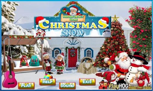 Christmas Snow Hidden Objects