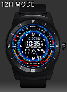 V05 WatchFace for Android Wear- screenshot thumbnail