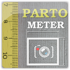 Partometer - camera measure icon