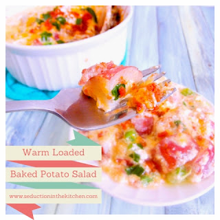 Warm Loaded Baked Potato Salad