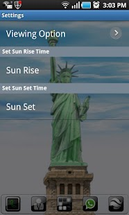 New York LWP Statue o Liberty - screenshot thumbnail