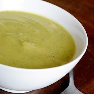 Zucchini Garlic Soup.