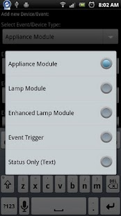 DroidSeer X10 Home Automation - screenshot thumbnail