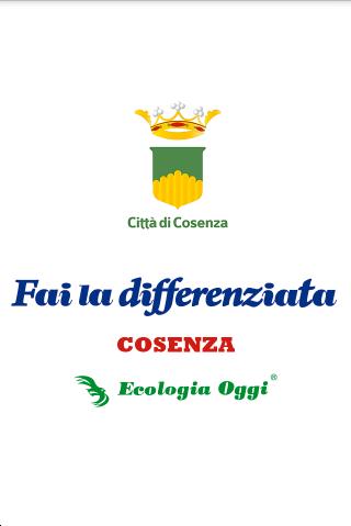 Fai La Differenziata - Cosenza