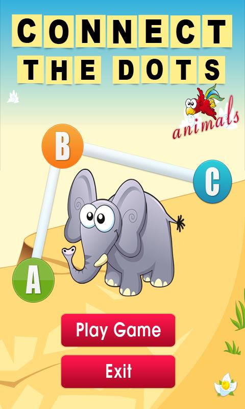 Connect the Dots - Animals - screenshot