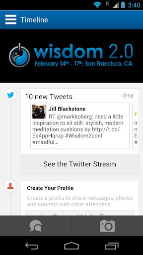 Wisdom 2.0 2014 Conference App