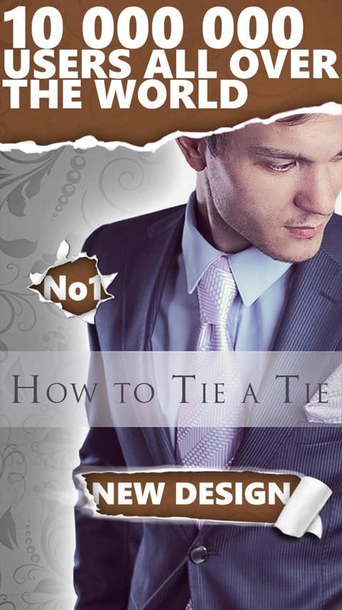 How to Tie a Tie Pro- screenshot