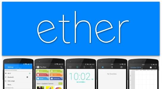 Ether(DAB) CK / CM11 Theme v1.2