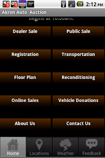 Akron Auto Auction - screenshot thumbnail