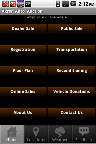 Akron Auto Auction- screenshot