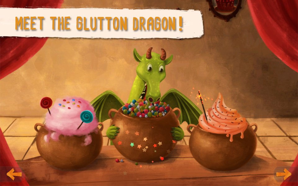 Senda and the Glutton Dragon- screenshot