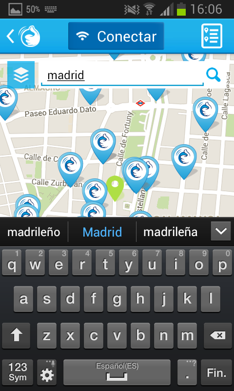GOWEX FREE Wi-Fi- screenshot