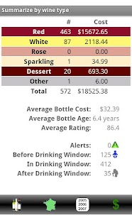 Wine Tracker- screenshot thumbnail