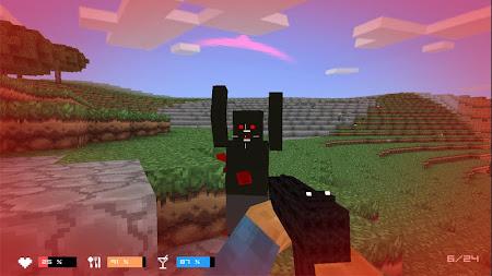 Cube Gun 3D : Zombie Island 1.0 screenshot 44165