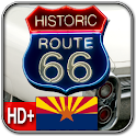 Route 66 ARIZONA HD+ Wallpaper logo