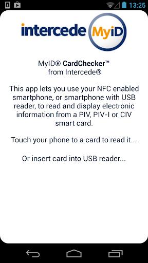 MyID CardChecker