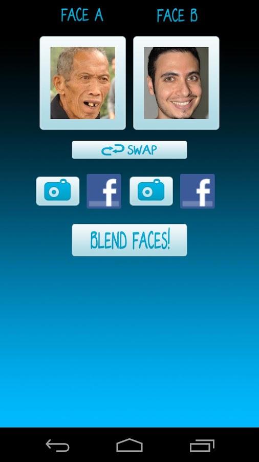 Face Blender Free Photo Booth - screenshot