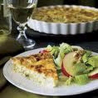 Mozzerella Crustless Chicken Quiche.
