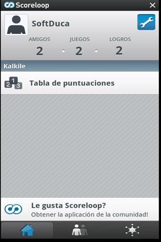 Kalkile: captura de pantalla