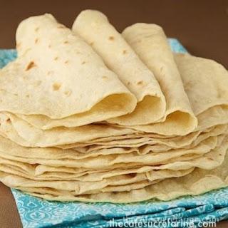 Best Ever! Homemade Flour Tortillas.