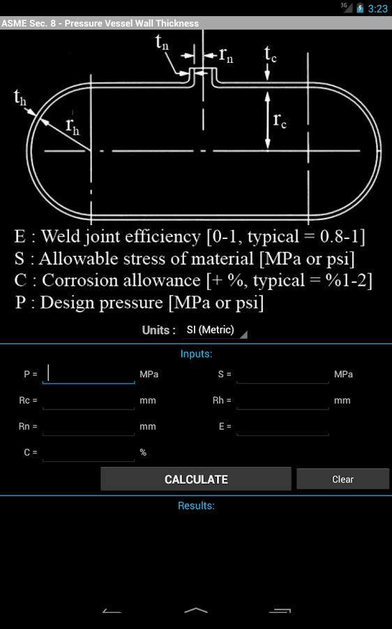 Mechanical Eng. Toolbox Pro - screenshot