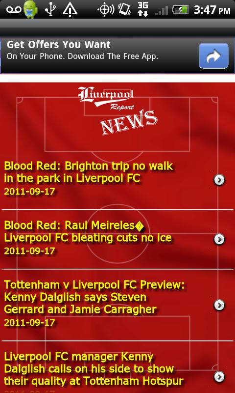 Liverpool Report - screenshot