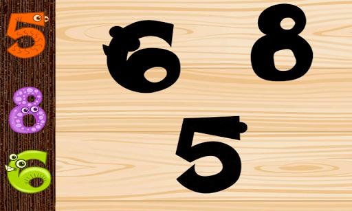アルファベット幼児のパズル