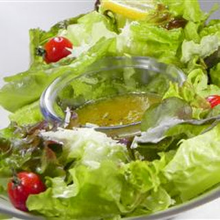 Romaine with Garlic Lemon Anchovy Dressing